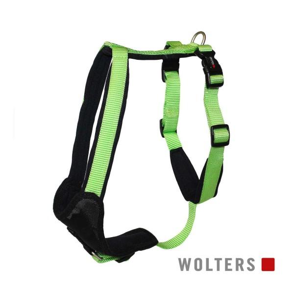 WOLTERS Geschirr Prof.Com 50-60cm kiwi/schwarz