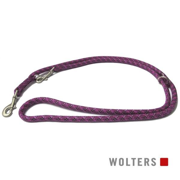 WOLTERS Leine Everest reflekt fuchs/pflaum 200x9