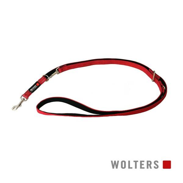 WOLTERS Leine Soft&Safe reflek 200cmx25mm caye/sch