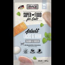 MAC´s Cat Pouch Pack Lachs & Geflügel 100g
