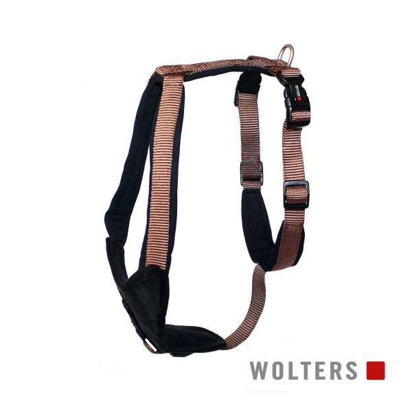 WOLTERS Geschirr Prof.Comf 50-60cm tabac/schwarz