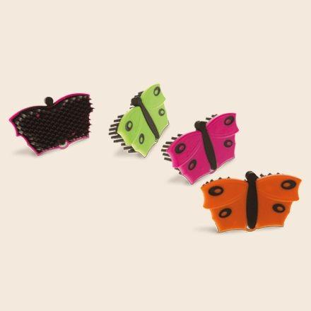 Putzwunder Schmetterling Mini Handbürste