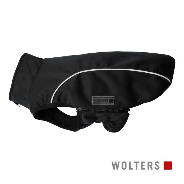 WOLTERS Softshell-Jacke Basic 42cm schwarz/reflekt