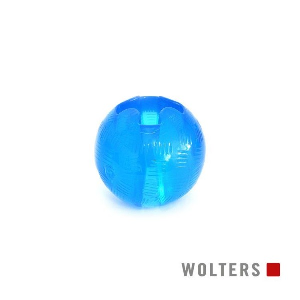 Wolters Spielball Bite-Me Strong medium 8,2cm aqua