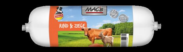 MAC´s Hund Wurst Rind & Ziege 800g