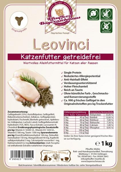 Pfeuffers Katzenfutter Leovinci getreidefrei 1kg