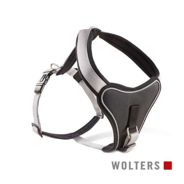 WOLTERS Geschirr Prof.Comf 70-85cm silber/schwarz