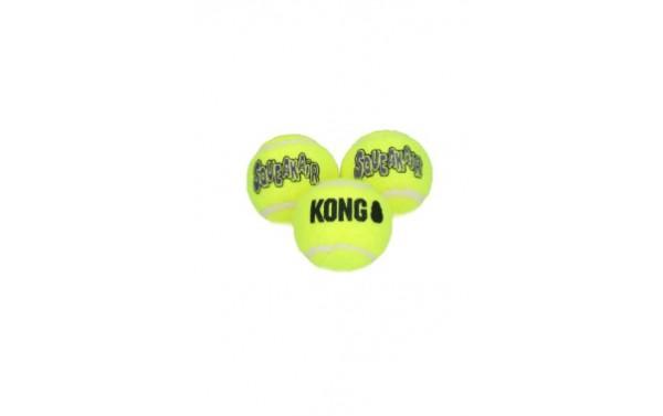 KONG Air Squeaker Tennis Ball S 5 cm (3 Stück)