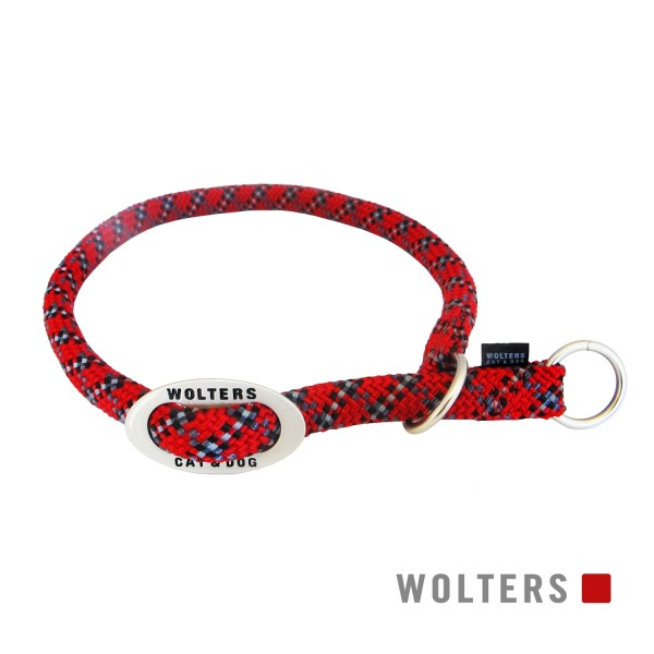 WOLTERS Schlupfhalsband Everest rot/schwarz 45-55
