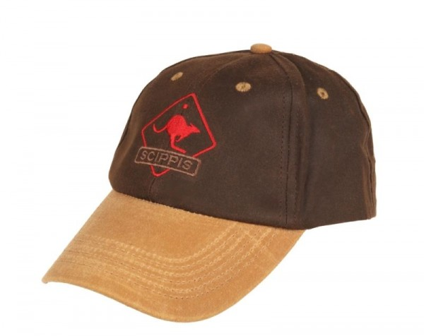 AFH OILSKIN CAP tan/brown One Size