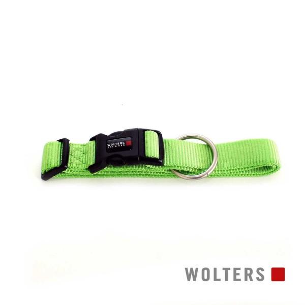 WOLTERS Halsband Prof extra breit M 28-40cm kiwi