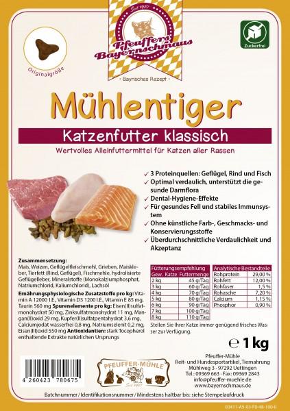 Pfeuffers Mühlentiger Katzenfutter(Mix) 1kg