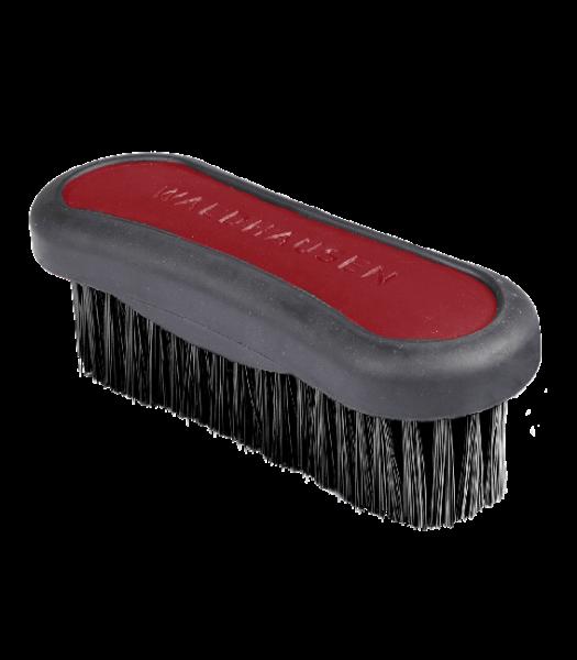 Kopfbürste rubinrot/grau 3cm Borsten 13cm