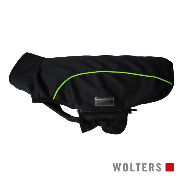 WOLTERS Softshell-Jacke Basic 34cm schwarz/limone