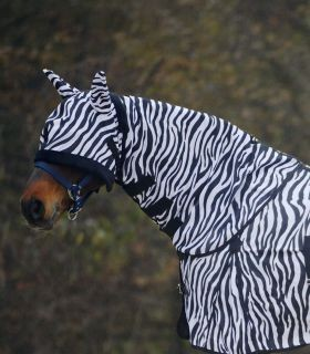 Fliegenhalsdecke Zebra WB