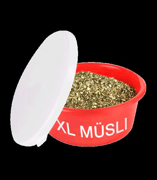 XL Müsli-Schale rot mit Deckel 8 L