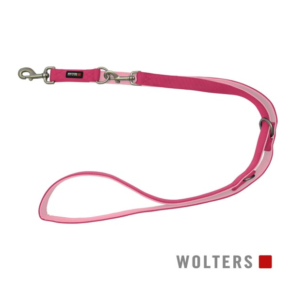 WOLTERS Leine Professional 200x20 himbeer/rosé