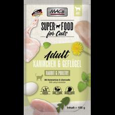 MAC´s Cat Pouch Pack Kaninchen & Geflügel 100g