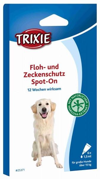 TRIXI Floh- und Zeckenschutz Spot On 8 x 1,5 ml