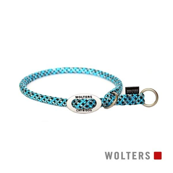 WOLTERS Schlupfhalsband reflekt aqua/ sw 35x9
