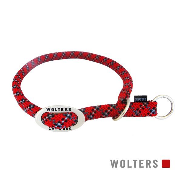 WOLTERS Schlupfhalsband Everest rot/schw 35-40x9