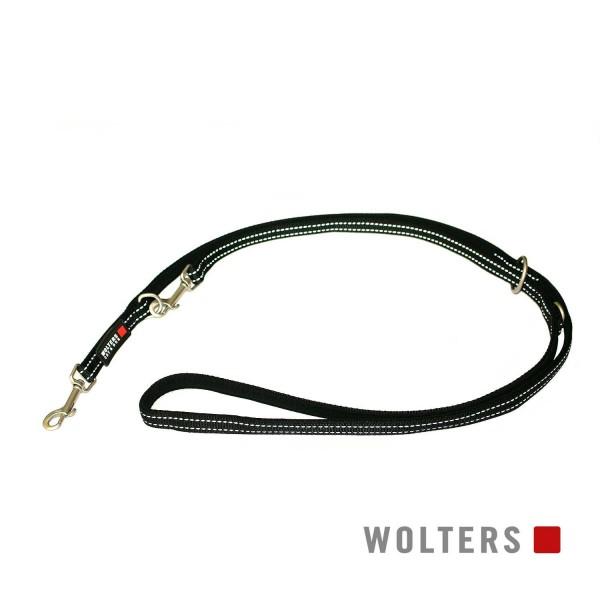 WOLTERS Leine Soft&Safe reflek 200cmx20mm schw/sch